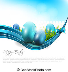 Easter background - Easter modern background with copyspace