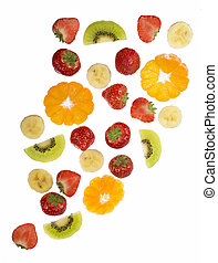 Collection of fruit