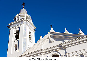 Church in Recoleta, Buenos Aires - The church at the...