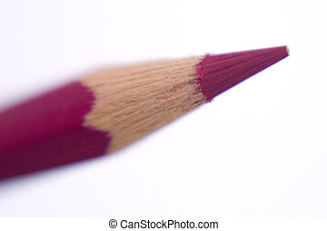 Colorful Pencils - A stock photograph of a color pencil...