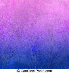 Blue and pink canvas background