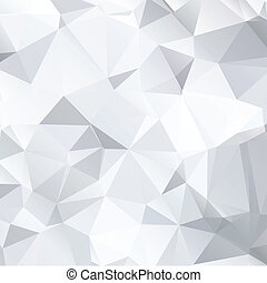 Abstract black and white background of polygonal