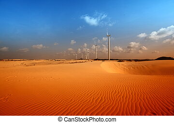 desert energy - desert windmills in dunes energy