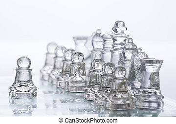 Chess Pieces - Transparent Chess Pieces