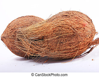 coconut on isolated background
