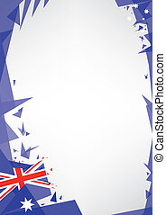 background origami of Australia a design background Origami...