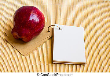 Apple red is no the Notepad