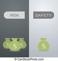 risk or safety - your choice risk or safety