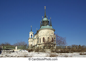 Church of Vladimir Icon of Mother of God, Russia - The...
