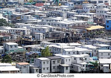 Tai O, an fishing village in Hong Kong.