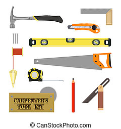 Carpenter`s Tool Kit