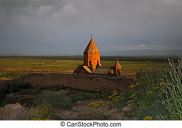 Sacred Khor Virap Monastery in Armenia - The Khor Virap is...