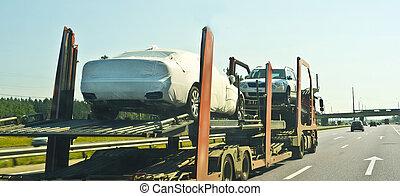 rack car - car transporter