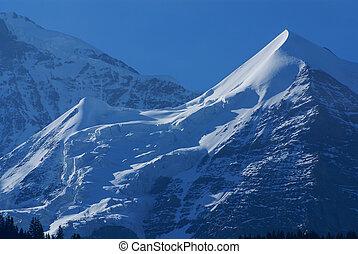 alpi, svizzero, europa,  interlaken, paesaggio