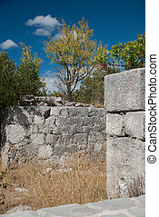 Old Ruin in Igrane, Dalmatia, Croatia