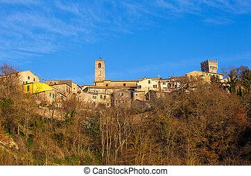 San Casciano in Val di Pesa, Italy - View of San Casciano in...