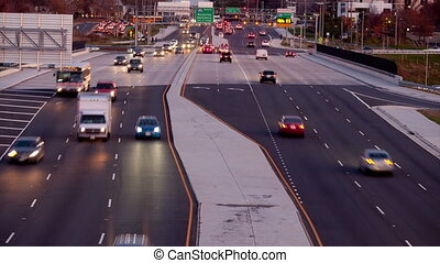 Traffic Leesburg Pike - Animation from still images of...