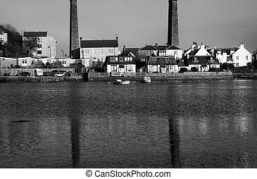 North Queensferry reflections - Town of North Queensferry....
