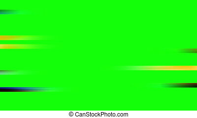 Color Streaks Wipe Green Screen - Color Streaks Wipe on...