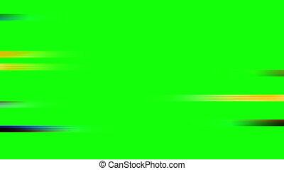 Color Streaks Wipe Green Screen - Color Streaks Wipe on...