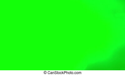 Color gradient fade wipe on green screen