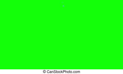 Water Splash Green Screen wipe - Water Splash Green on...