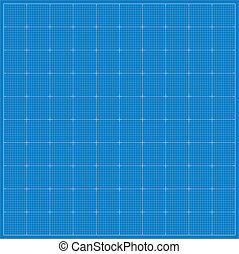 Blueprint background. Vector