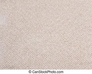 Beige tweed fabric texture as background - Beige tweed...
