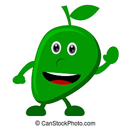 mango - illustration vector graphic cartoon character of...