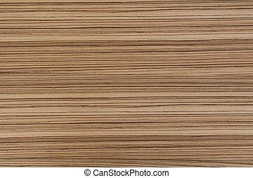 Zebrano wood texture