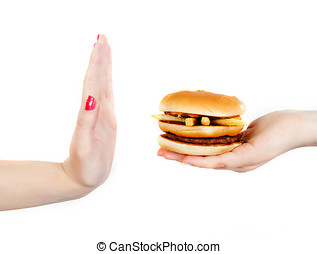 unhealthy food - say no to unhealthy food