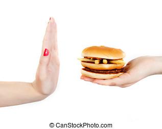 """unhealthy food - say """"no"""" to unhealthy food"""