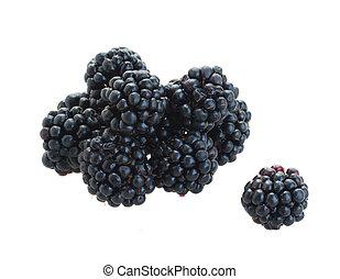 pile of blackberry