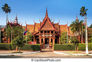 This is Cambodias largest museum of cultural history and is...