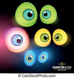 Monster Eyeball Set