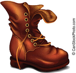 Vector Old Boot