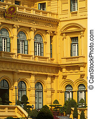 Presidential Palace, Hanoi - Detail of the old presidential...