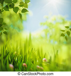 Abstract seasonal backgrounds with selective focus for your...