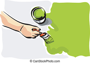 Wall paint Clipart and Stock Illustrations. 119,154 Wall paint ...