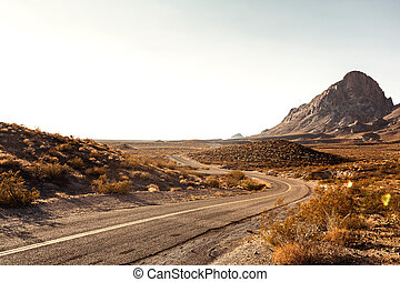 Mojave Desert Highway - Pretty Empty Mojave Desert Highway...