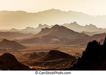 Mojave Desert Landscape - Raw Mojave Desert Landscape -...