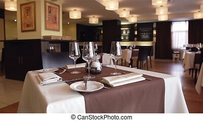 Reserved Table - reserved, table, restaurant, arrangement,...