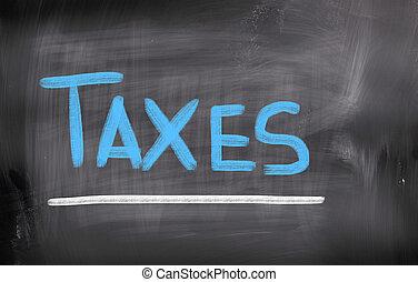 conceito, impostos