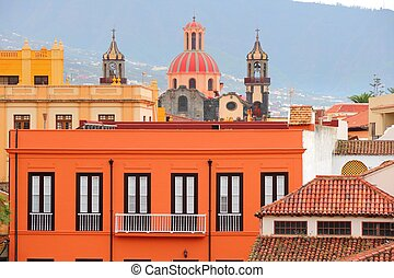 La Orotava, Tenerife - Tenerife, Canary Islands, Spain - Old...
