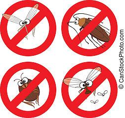 Pestes, parada, señal