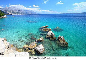 Croatia summer - Croatia - beautiful Mediterranean coast...