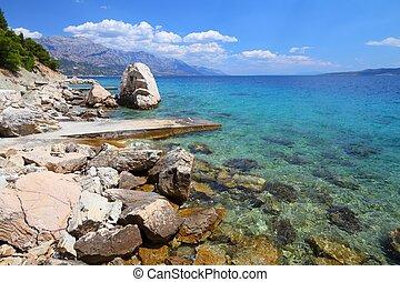 Adriatic coast - Croatia - beautiful Mediterranean coast...