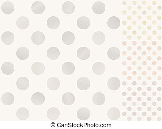 seamless polka dots pattern - seamless polka dots with...