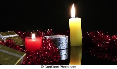 Candles and Gift Boxes
