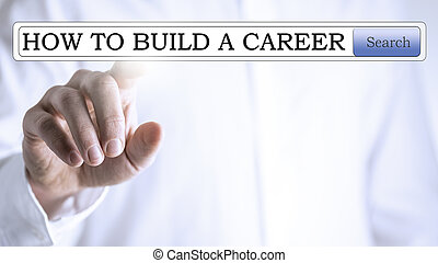 Searching for information about career